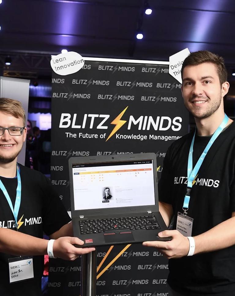 BlitzMinds digitalisiert Innovation