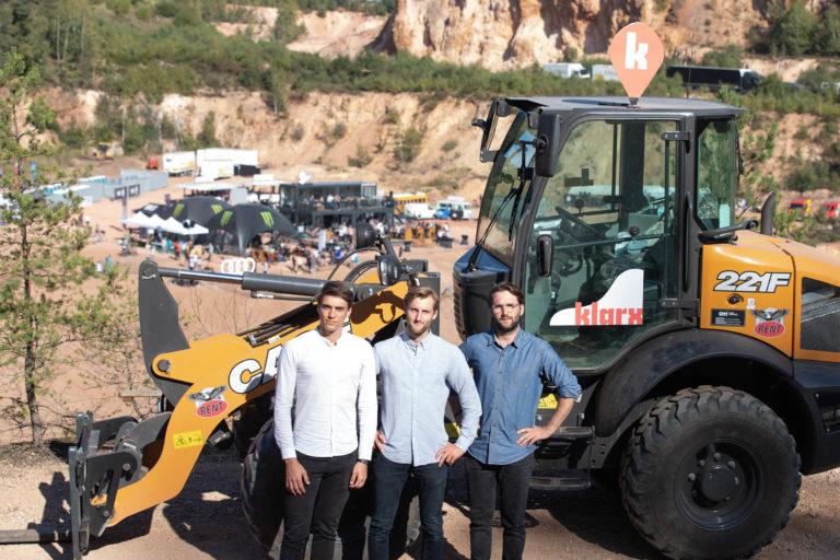 klarx plant Logistikzentrum, um digitale Baumaschinenmiete zu perfektionieren