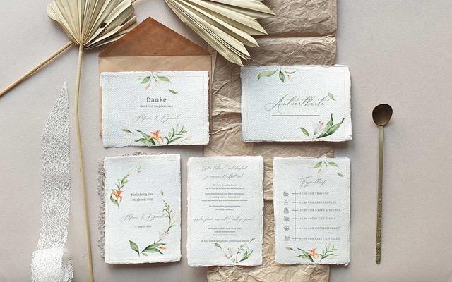 Beewedded – macht wunderschöne Hochzeitseinladungen