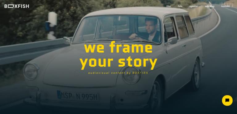 Boxfish – Agentur für audiovisuellen Content und ausgezeichnete Werbung