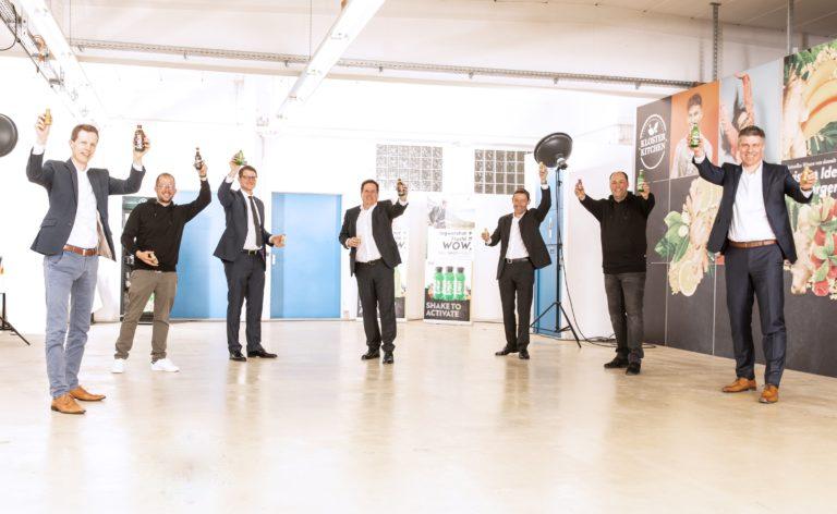 Eckes-Granini steigt beim Ingwershot Start-up Kloster Kitchen ein