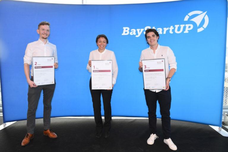 BioTech-Startup Opsyon belegt Platz 1 im Münchener Businessplan Wettbewerb 2021 von BayStartUP
