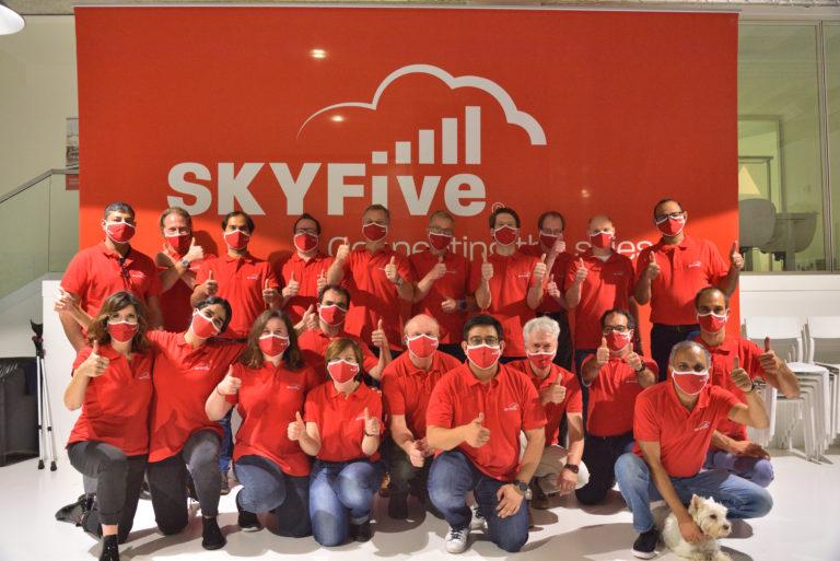 SkyFive bringt das Internet in den Himmel